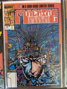 Machine Man #1 (1984)