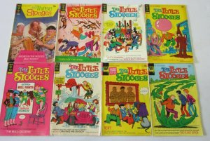 Three Stooges comic lot 8 different