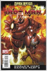 Invincible Iron Man   vol. 1   # 16 FN (Dark Reign)