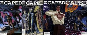 CAPED (2009 BOOM) 1A-4A  the COMPLETE series!
