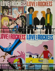 LOVE AND ROCKETS Vol.4 (Fantagraphics,2016) #1-4 VF-NM  Xaime y Beto Hernandez
