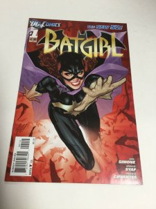 Batgirl 1 Second 2nd Print Nm Near Mint DC Comics New 52