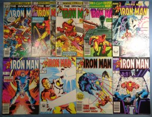 Iron Man Lot #106 144 147 155 176 186 197 198 199 Marvel Comics