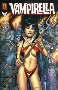 Vampirella (2nd Series) #21 VF/NM; Harris | save on shipping - details inside
