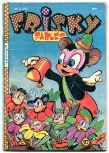 Frisky Fables Vol. 2 #2 1946- Al Fago- Golden Age Funny Animals VG