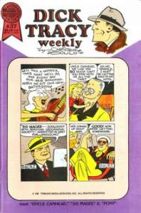 Dick Tracy Monthly/Weekly #37, NM- (Stock photo)