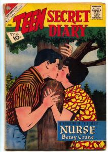 Teen Secret Diary #11 1961- 1st NURSE BETSY CRANE- Charlton VG