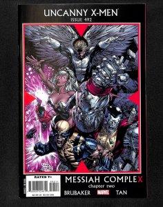 The Uncanny X-Men #492 (2008)