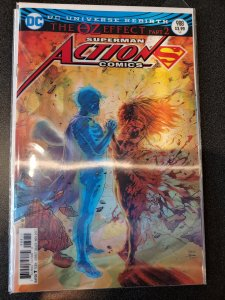 ACTION COMICS no. 988 NM 3D Lenticular Cover MR OZ is Superman's father Jor EL