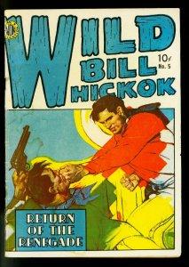 Wild Bill Hickok #5 1950- Jeff Venture- Avon Western- G