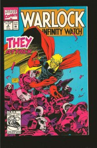 Marvel Comics Warlock & The Infinity Watch Vol No 4 May 1992