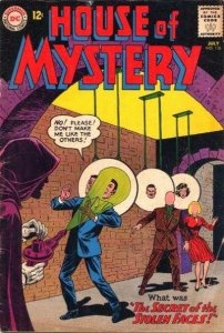 House of Mystery (1951 series) #136, VG (Stock photo)