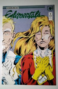 Elementals #14 (1987) Comico Comic Book J756
