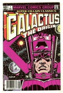 Super-Villain Classics 1   Origin Galactus   Kirby