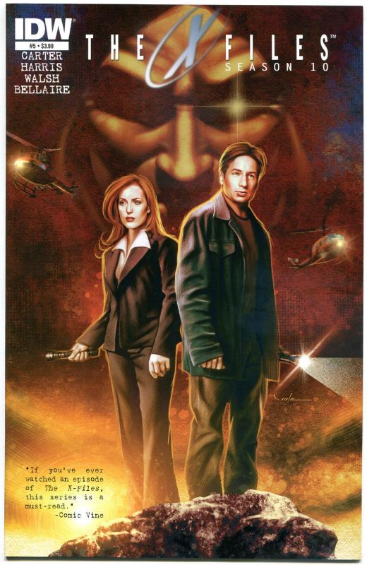 X-FILES #5 Season 10, NM, Fox Mulder, Scully, 2013, Chris Carter, more in store