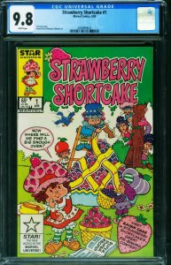 Strawberry Shortcake #1 CGC 9.8-1st issue White pages-2038909025