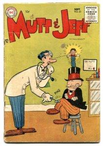 Mutt and Jeff #81 1955 Bud Fisher- DC Comics VG