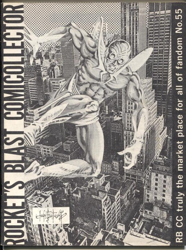 Rocket's Blast Comicollector  #55 1967-Howard Rogofsky-early fanzine-buy / sell