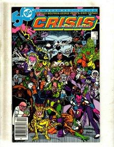12 Comics Crisis On Infinite Earths 9 11 Superman 3 Captain Carrot 8 +MORE GB1