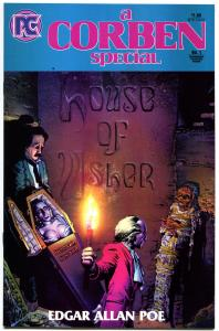 HOUSE of USHER #1, VF/NM, Richard Corben, Horror, Edgar Allan Poe, 1984