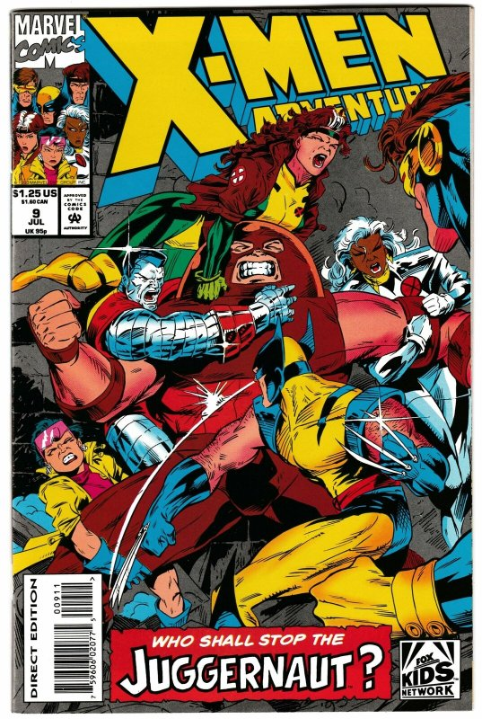 X-Men Adventures #9 (Marvel, 1993) VF/NM