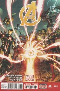 Avengers (2013 series) #8, NM + (Stock photo)