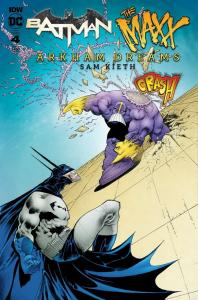 BATMAN THE MAXX (2018 IDW) #4 VARIANT CVR B KIETH PRESALE-07/31