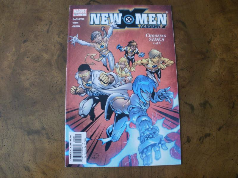 New X-men Academy X #2 (Marvel) 2004 Choosing Sides