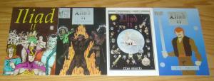 the Iliad II #1-3 VF/NM complete series + variant - mythology set lot 1986 comic