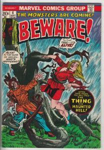 Beware #4 (Sep-73) NM- High-Grade