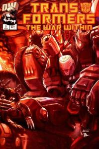 Transformers: The War Within #2, NM + (Stock photo)