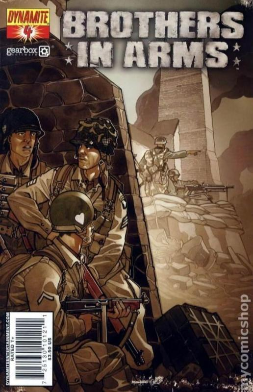 BROTHERS in ARMS #4, NM, WWII, War, Battle, 2008, more indies in store, Fabbri