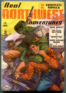 Real Northwest Adventures Pulp January 1937-Harry Sinclair Drago RCMP