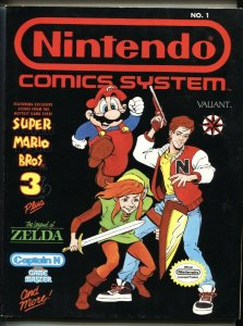 Nintendo Comics System #1 1990 HTF NO PRICE VARIANT NM-