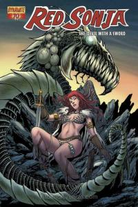 Red Sonja (Dynamite) #71 VF/NM; Dynamite | save on shipping - details inside