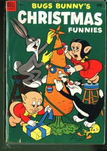 Bugs Bunny's Christmas Funnies #4 (1953)