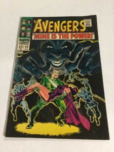 Avengers 49 Vg+ Very Good+ 4.5 Marvel Comics Silver Age