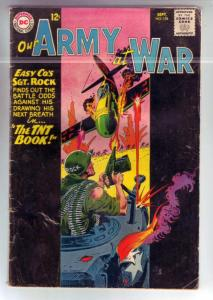 Our Army at War #134 (Sep-63) VG+ Affordable-Grade Easy Company, Sgt. Rock