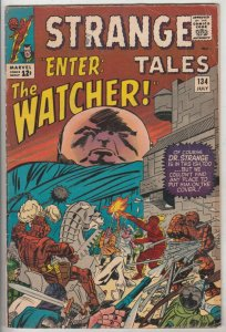 Strange Tales #134 (Jul-65) FN Mid-Grade Human Torch, the Thing, Doctor Strange