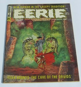 Eerie #6 VG+ 1966 Silver Age Horror/Science Fiction Magazine Scary Strange Weird