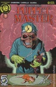 PUPPET MASTER #19, NM, Bloody Mess, 2015 2016, Dolls, Killers, Variant