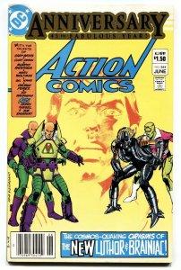 Action #544 1983 comic book First Lex Luthor Armor suit Brainiac