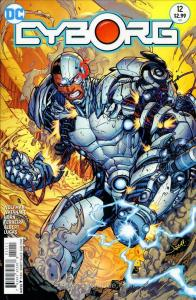 Cyborg #12 VF/NM; DC   save on shipping - details inside