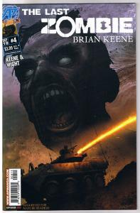 The LAST ZOMBIE #4, VF-, 2010, undead, more Horror in store