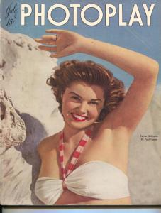 Photoplay-Esther Williams-Guy Madison-Virginia May-Donna Reed-July-1947