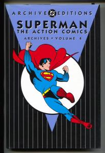 Superman The Action Comics-Vol 4-Golden Age Color Reprints-Hardcover