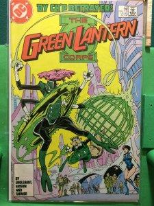 Green Lantern #214 Corps