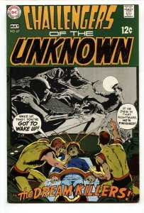 CHALLENGERS OF THE UNKNOWN #67 1969-DC COMICS  VF