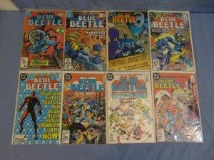 Blue Beetle (DC Comics 1986) Lot of 9 Books Issues #1-8 & 24 Len Wein Great Read