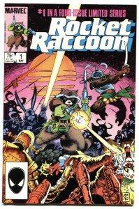 ROCKET RACCOON #1 comic book - 1st ISSUE MARVEL KEY HIGH GRADE